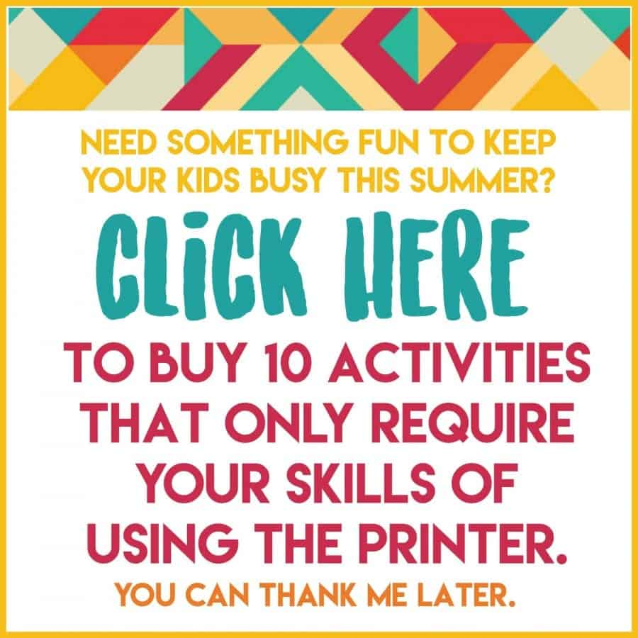 fun printables to keep kids busy