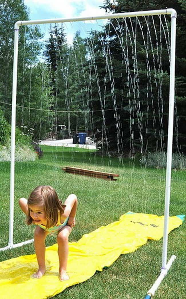 pvc-yard-sprinkler-for-kids