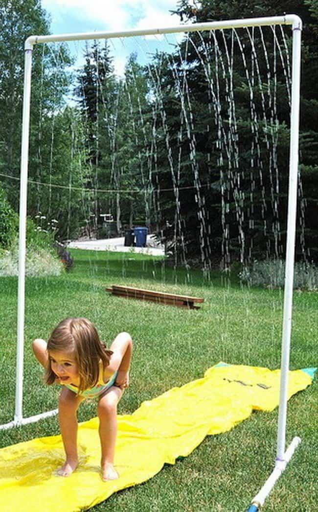 Summer Time Water Fun A Girl And A Glue Gun
