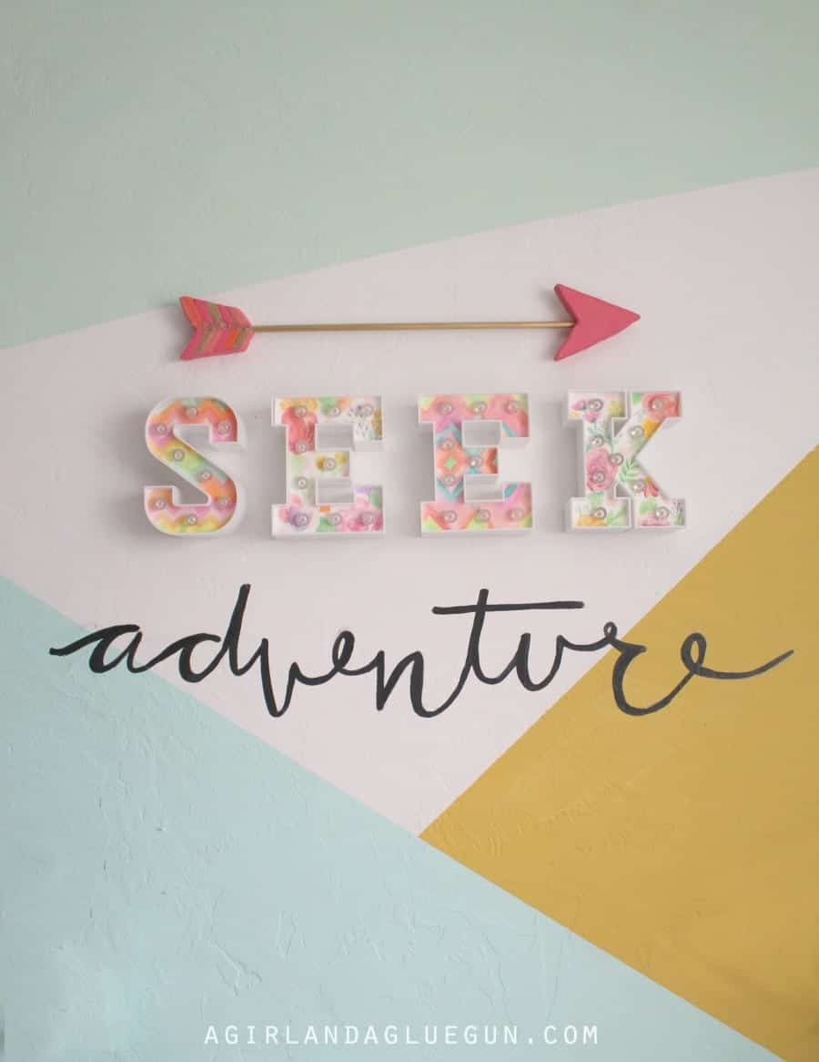seek adventure arrow