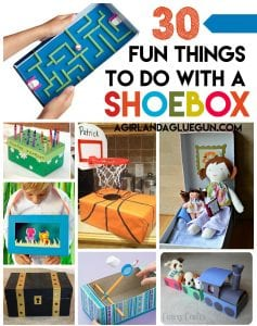 Shoe Box Crafts for Kids