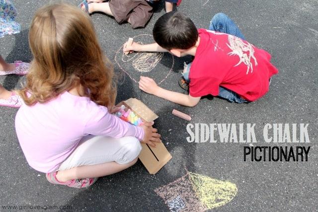 Sidewalk-Chalk-Pictionary