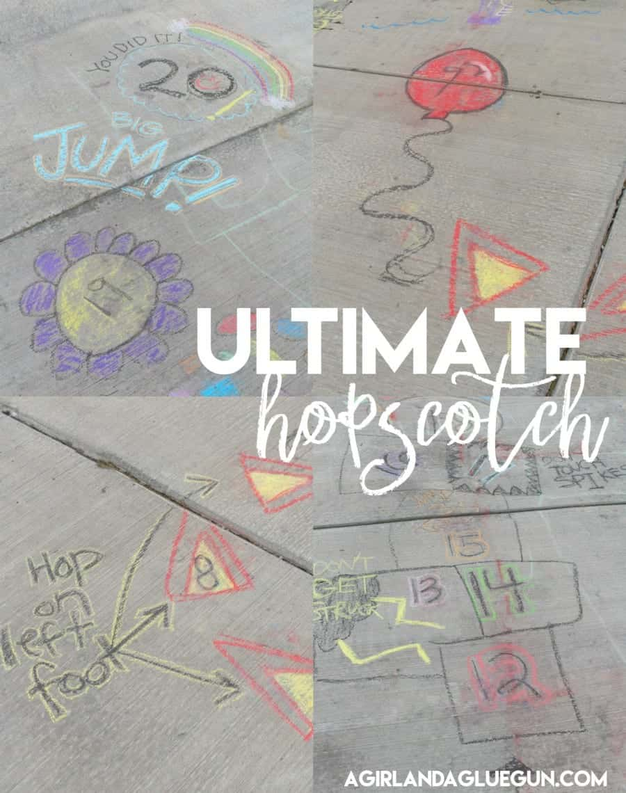 10 Awesomely Fun Sidewalk Chalk Activities Make And Takes