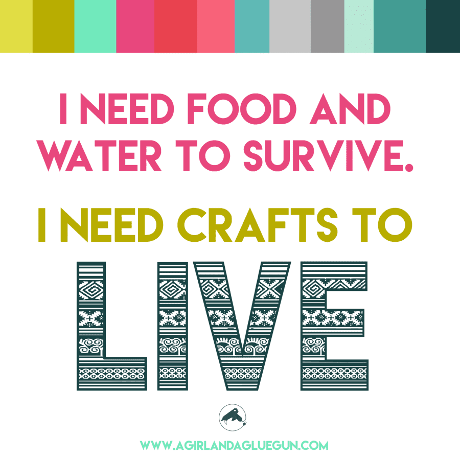 crafts to live