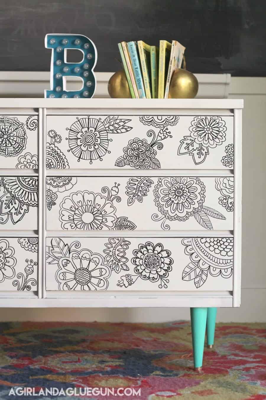 doodling dresser