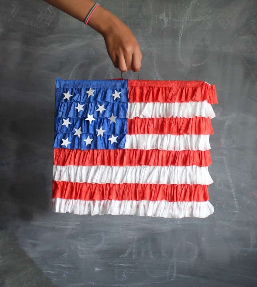 flag pinata