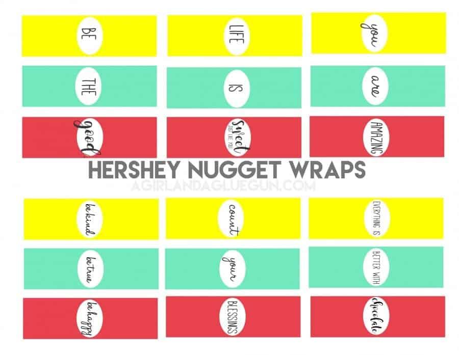 hershey nugget wraps
