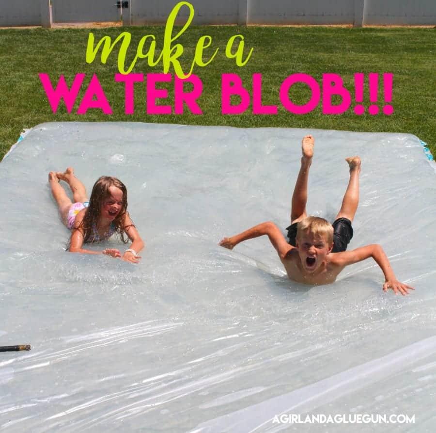 make a water blob