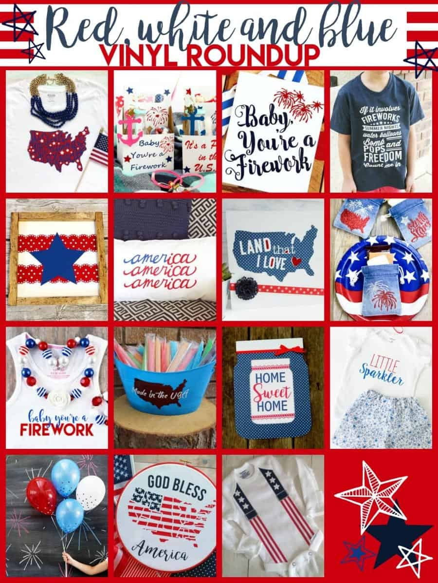 july 4 silhouette cameo project ideas beginners july 4th 4th of july