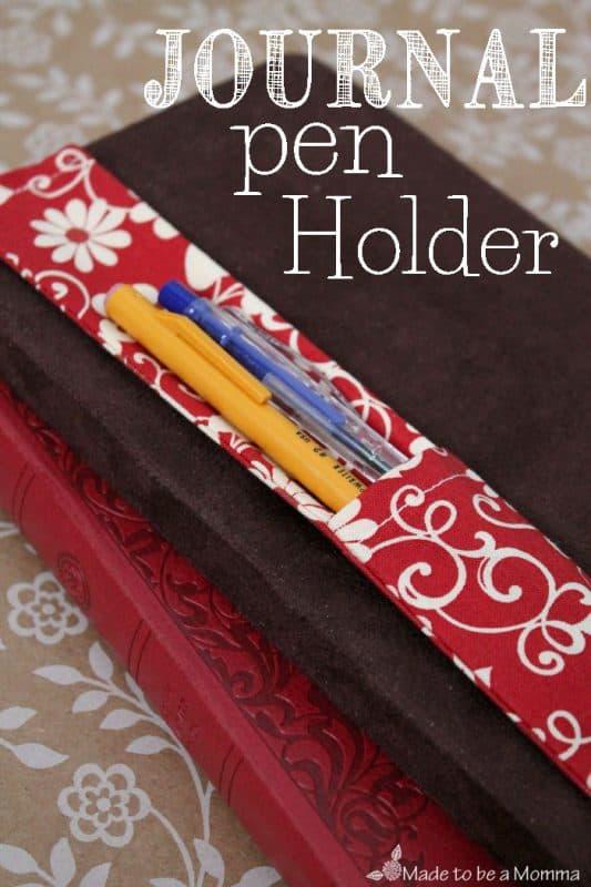 Journal-Pen-Holder
