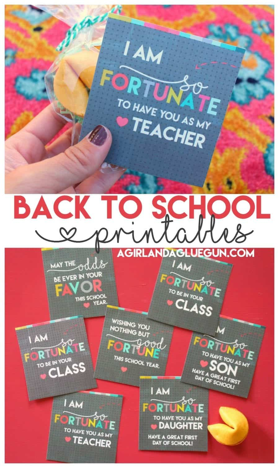 back to school printables for teachers and kids