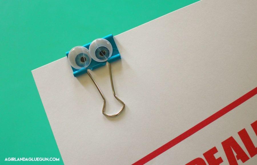 binder clip ideas