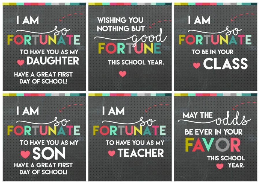 printables free back to school