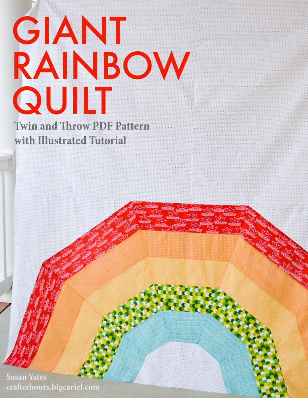 Giant-Rainbow-Quilt-Pattern-Cover
