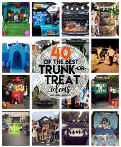 40 of the best Trunk or Treat Ideas