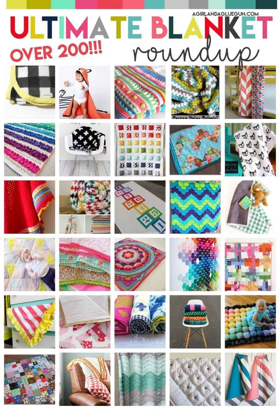 over 200 amazing blankets
