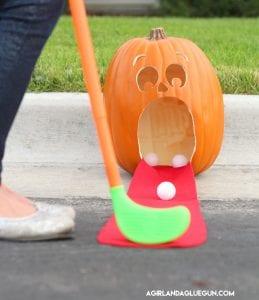 Pumpkin Golf!