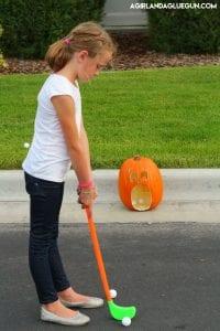 Halloween Golf game