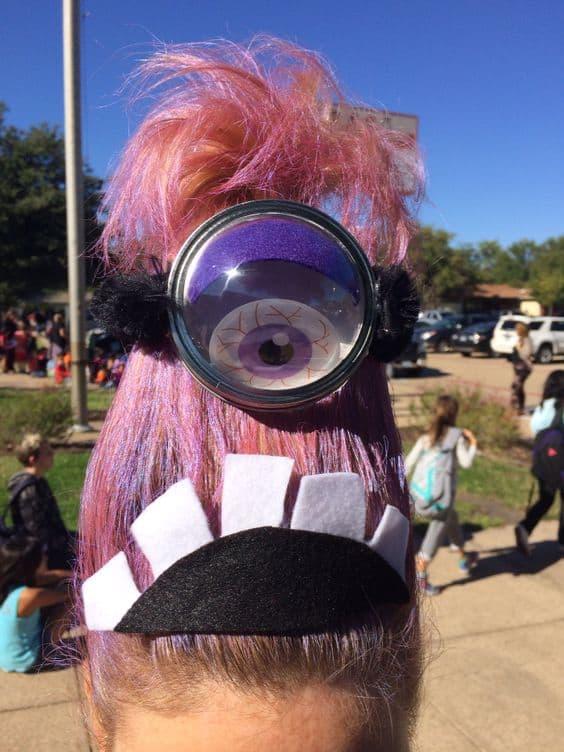 Crazy Hair Day A Girl And A Glue Gun