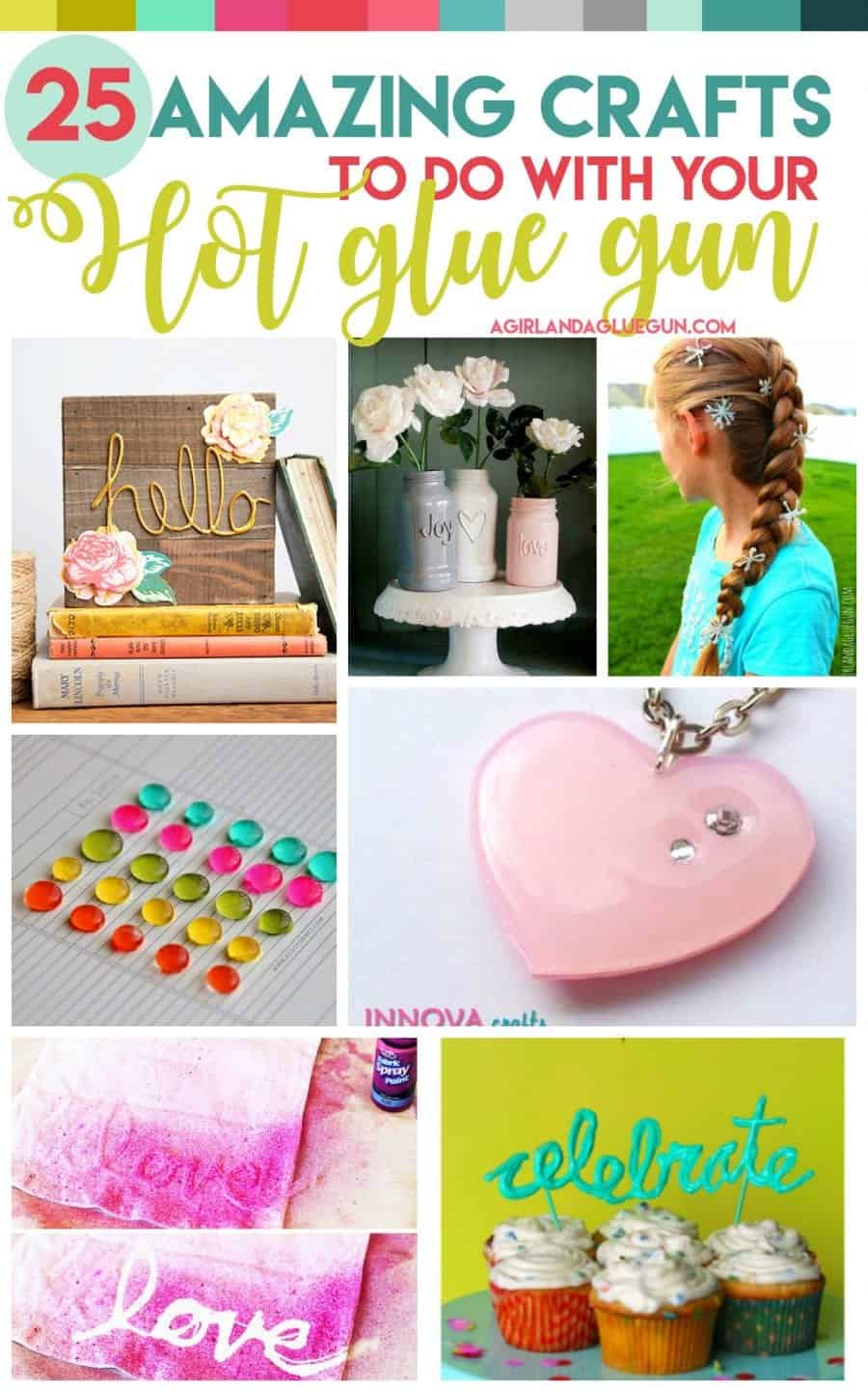 25 amazing crafts to do with your hot glue gun regina mcgill for Cool fun easy crafts