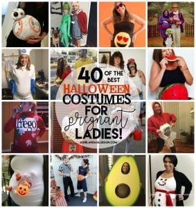 Halloween Costumes for Pregnant Ladies!