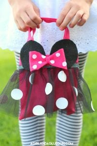 Minnie Mouse purse–and a trip to Disneyland!