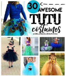 Halloween Tutu Costumes