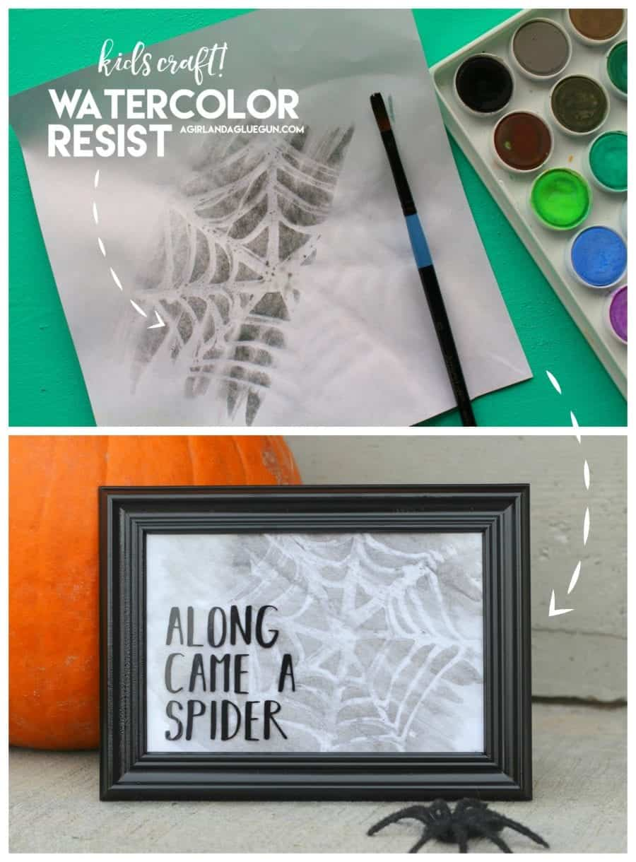 fun-spider-web-watercolor-resist-artwork