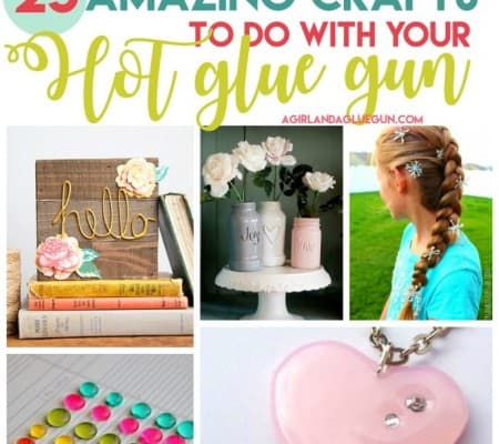 amazingly cool crafts to do with your glue gun