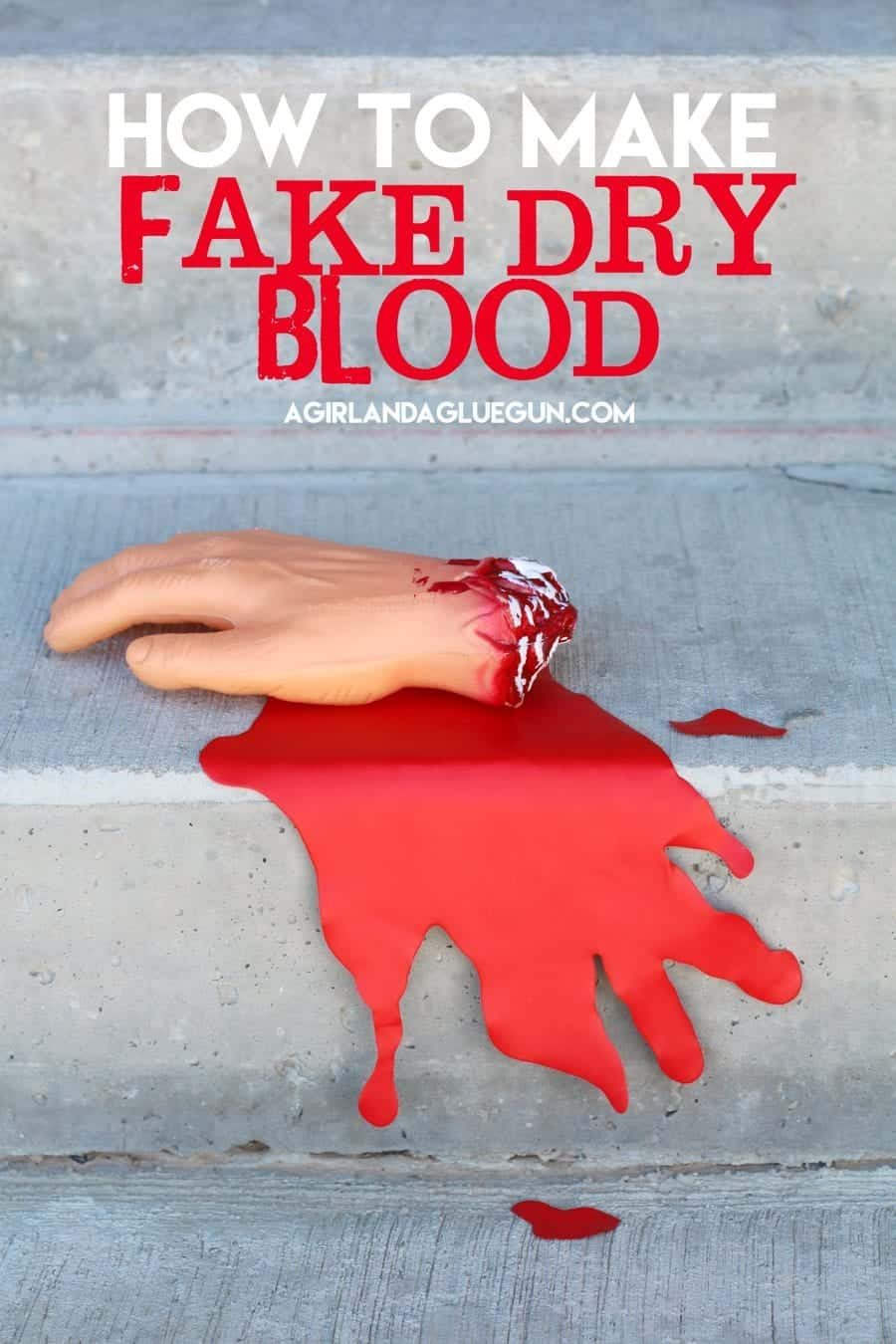 how-to-make-fake-dry-blood