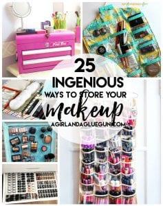 let's get organized–makeup