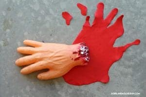 How to make fake dry blood!