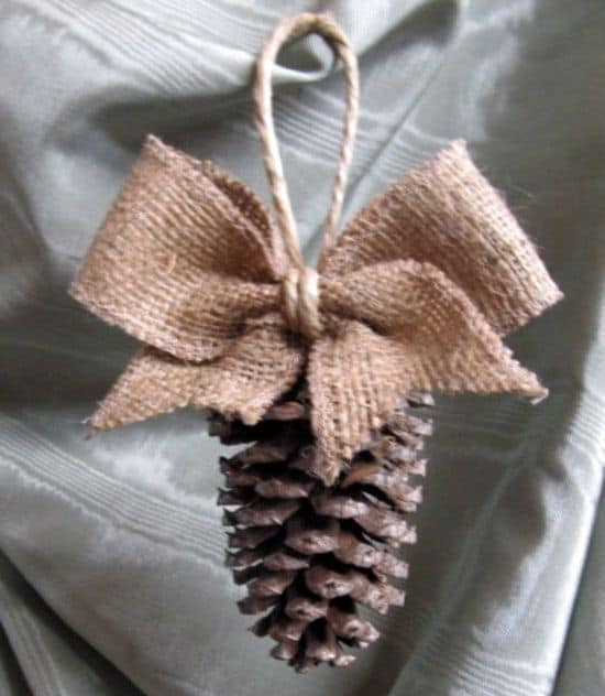 pinecone-ornament