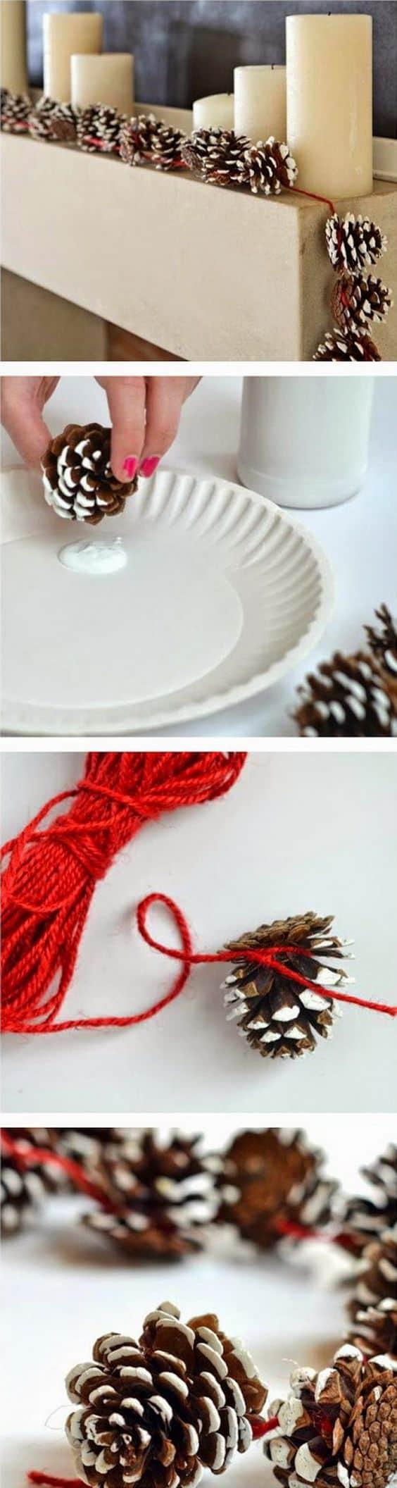 pinecone-garland