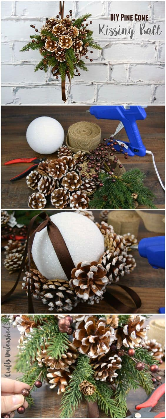 40 Awesome Pinecone Crafts And Projects A Girl And A Glue Gun