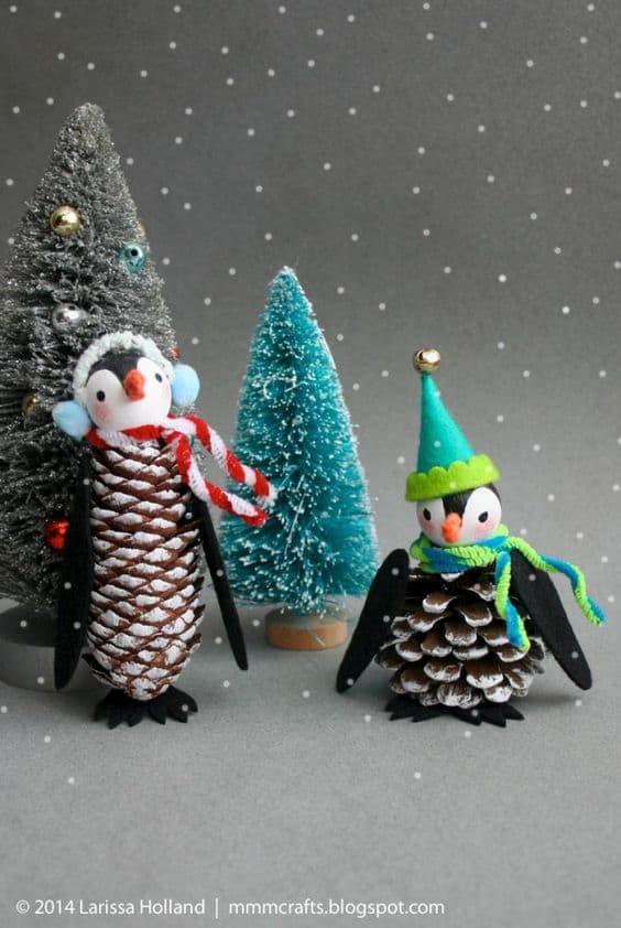 pinecone-penguins