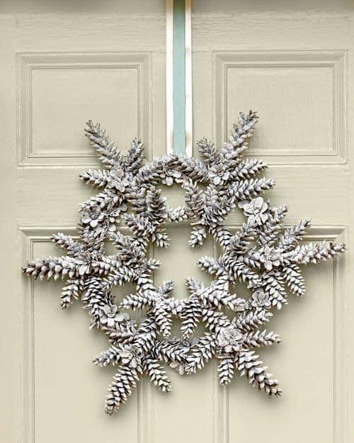 pinecone-star-wreath