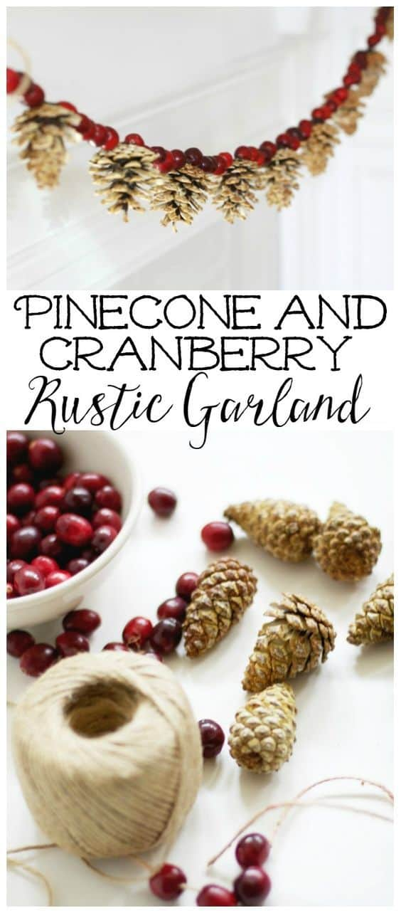pinecone-and-cranberry-garland