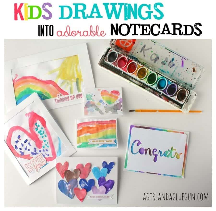 kids-drawings-into-adorable-notecards-900x877