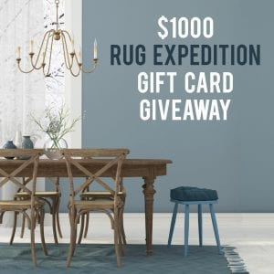 $1000 Rug Expedition gift card!