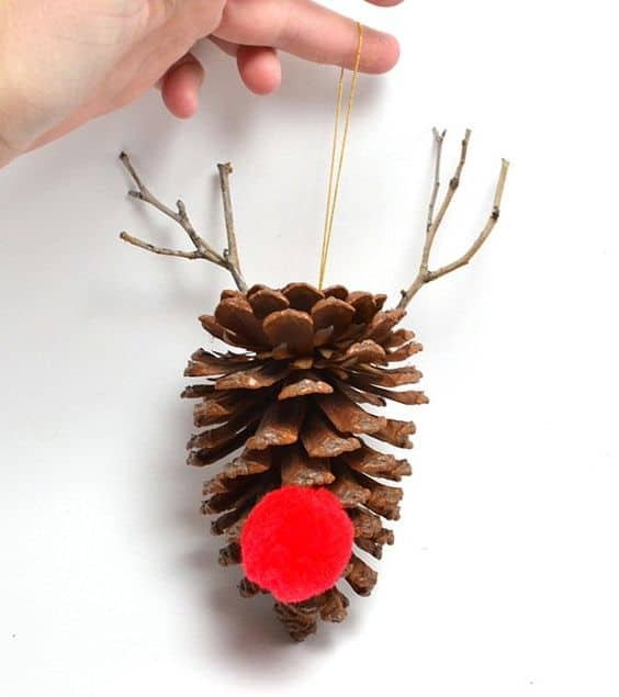 Pine Cone Christmas Ornaments To Make.40 Awesome Pinecone Crafts And Projects A Girl And A Glue Gun