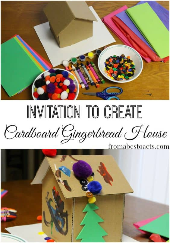 gingerbread-cardboard-house