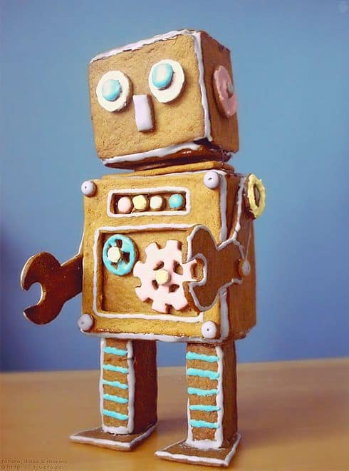 gingerbread-robot