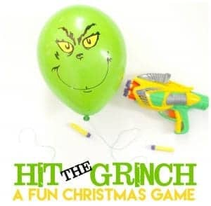 Hit the grinch game–Perfect for classroom parties!