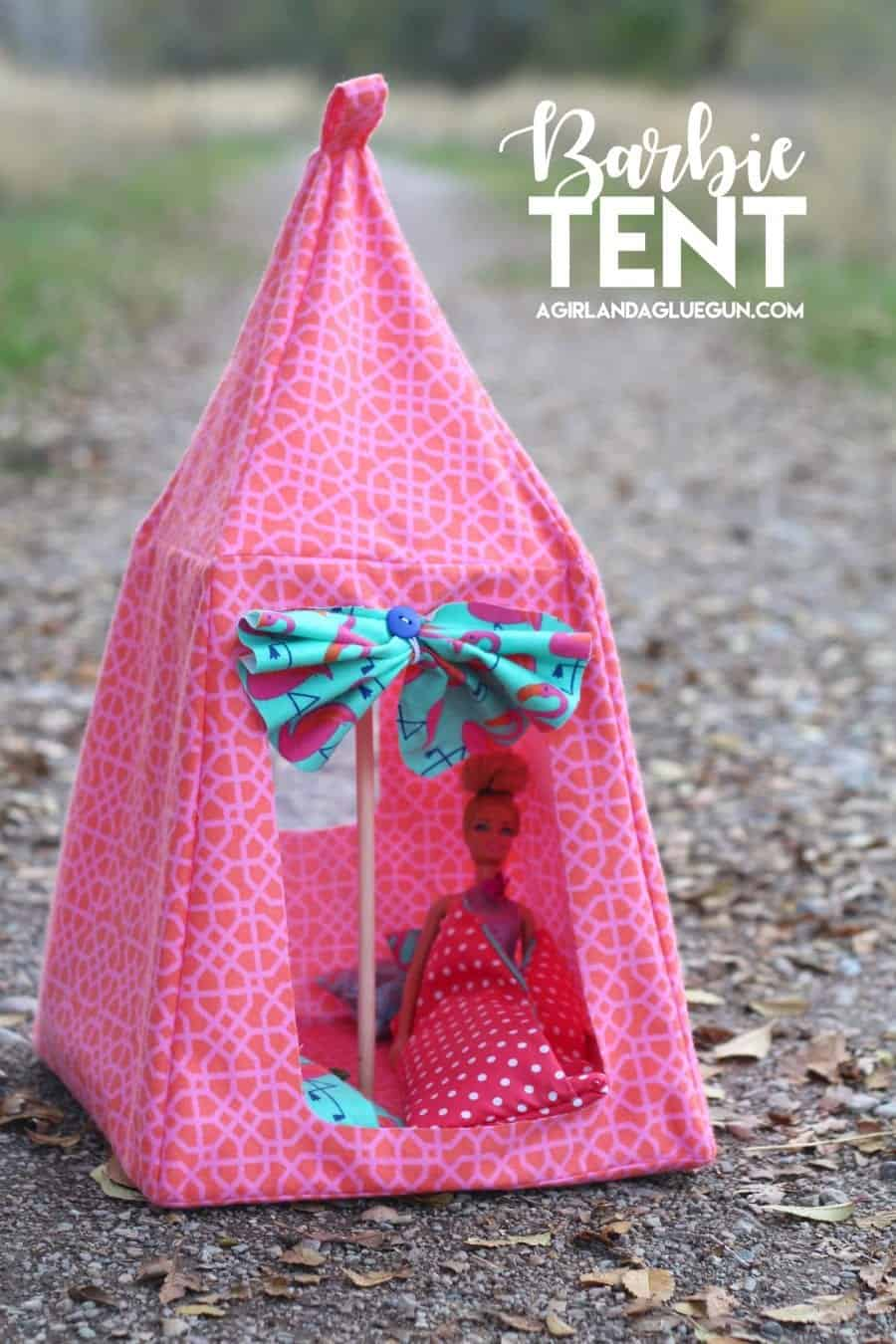 barbie-tent-12 & Barbie Tent Pattern - A girl and a glue gun