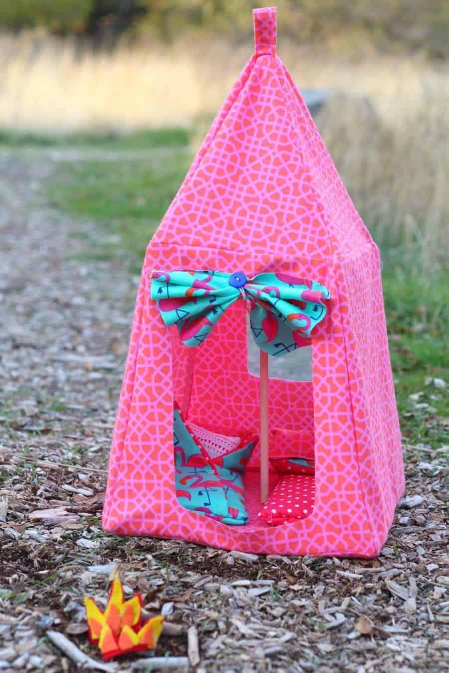 Barbie Tent Pattern A Girl And A Glue Gun