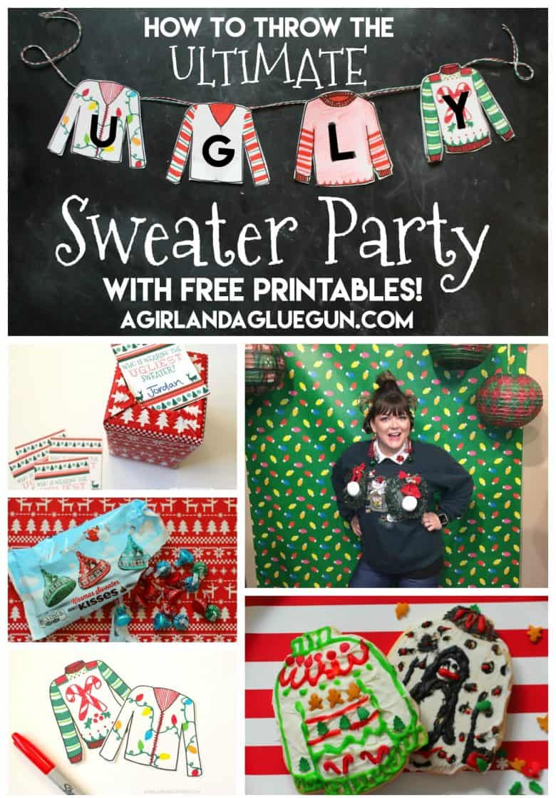 How To Throw The Ultimate Ugly Sweater Party A Girl And