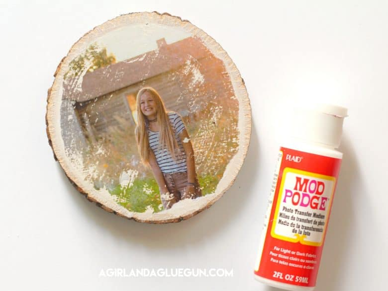 How To Transfer Photos On Wood 4 Different Ways A Girl