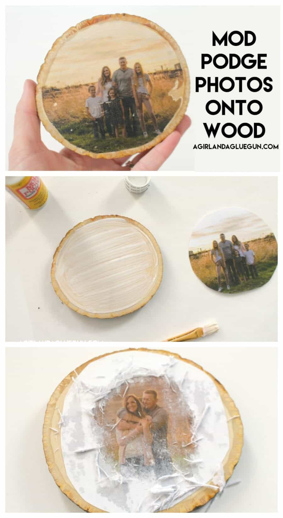how to transfer photos on wood 4 different ways a girl and a glue gun. Black Bedroom Furniture Sets. Home Design Ideas