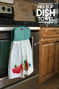 NO slip Dish towel!